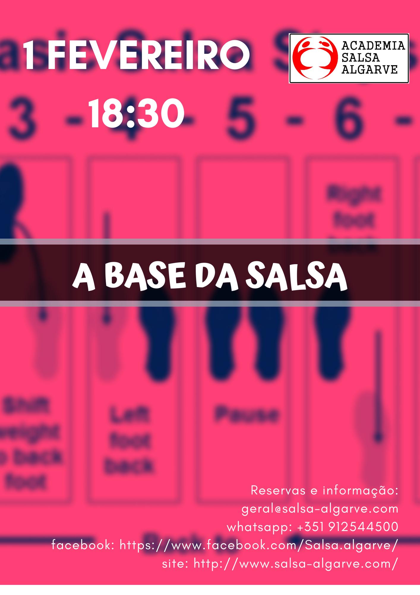 Workshop – As bases da Salsa