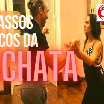 Tutorial – Aula – Passos básicos da Bachata. Aprende os passos básicos da Bachata. Simples e fácil!